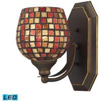 ELK Lighting Vanity 1 Light Bath Bar in Aged Bronze 570-1B-MLT-LED