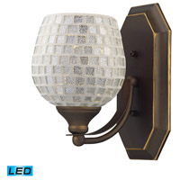 ELK Lighting Vanity 1 Light Bath Bar in Aged Bronze 570-1B-SLV-LED