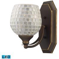 ELK Lighting Vanity 1 Light Bath Bar in Aged Bronze 570-1B-SLV-LED