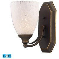 ELK Lighting Vanity 1 Light Bath Bar in Aged Bronze 570-1B-SW-LED