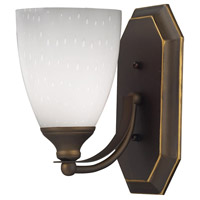 ELK Lighting Vanity 1 Light Bath Bar in Aged Bronze 570-1B-WH