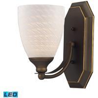 ELK Lighting Vanity 1 Light Bath Bar in Aged Bronze 570-1B-WS-LED
