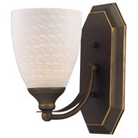 ELK Lighting Vanity 1 Light Bath Bar in Aged Bronze 570-1B-WS