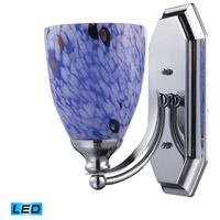 ELK Lighting Vanity 1 Light Bath Bar in Polished Chrome 570-1C-BL-LED