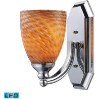 ELK Lighting Vanity 1 Light Bath Bar in Polished Chrome 570-1C-C-LED