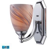 ELK Lighting Vanity 1 Light Bath Bar in Polished Chrome 570-1C-CR-LED