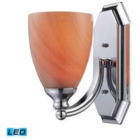 ELK Lighting Vanity 1 Light Bath Bar in Polished Chrome 570-1C-SY-LED