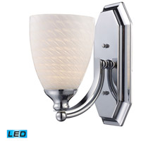 ELK Lighting Vanity 1 Light Bath Bar in Polished Chrome 570-1C-WS-LED