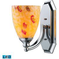 ELK Lighting Vanity 1 Light Bath Bar in Polished Chrome 570-1C-YW-LED