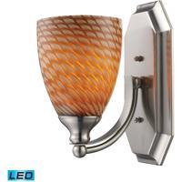 ELK Lighting Vanity 1 Light Bath Bar in Satin Nickel 570-1N-C-LED