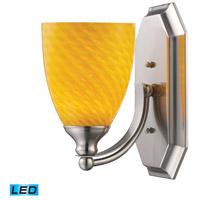 ELK Lighting Vanity 1 Light Bath Bar in Satin Nickel 570-1N-CN-LED