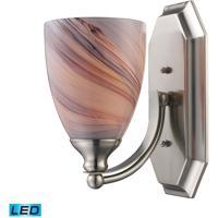 ELK Lighting Vanity 1 Light Bath Bar in Satin Nickel 570-1N-CR-LED