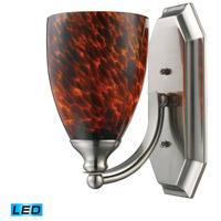 ELK Lighting Vanity 1 Light Bath Bar in Satin Nickel 570-1N-ES-LED