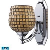 ELK Lighting Vanity 1 Light Bath Bar in Satin Nickel 570-1N-GLD-LED