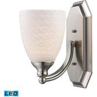 ELK Lighting Vanity 1 Light Bath Bar in Satin Nickel 570-1N-WS-LED