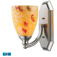 ELK Lighting Vanity 1 Light Bath Bar in Satin Nickel 570-1N-YW-LED
