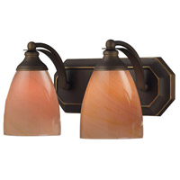 ELK Lighting Vanity 2 Light Bath Bar in Aged Bronze 570-2B-SY