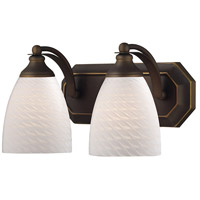 ELK Lighting Vanity 2 Light Bath Bar in Aged Bronze 570-2B-WS