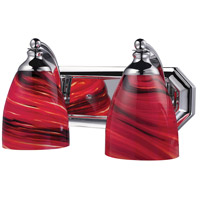 ELK Lighting Vanity 2 Light Bath Bar in Polished Chrome 570-2C-A photo thumbnail