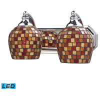 ELK Lighting Vanity 2 Light Bath Bar in Polished Chrome 570-2C-MLT-LED