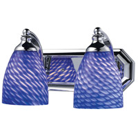 ELK Lighting Vanity 2 Light Bath Bar in Polished Chrome 570-2C-S photo thumbnail