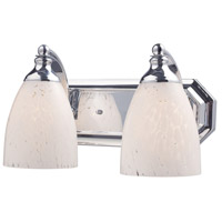 ELK Lighting Vanity 2 Light Bath Bar in Polished Chrome 570-2C-SW