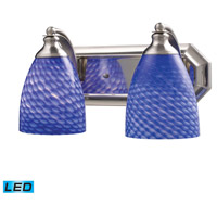 ELK Lighting Vanity 2 Light Bath Bar in Satin Nickel 570-2N-S-LED
