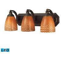 ELK Lighting Vanity 3 Light Bath Bar in Aged Bronze 570-3B-C-LED