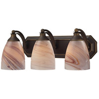ELK Lighting Vanity 3 Light Bath Bar in Aged Bronze 570-3B-CR