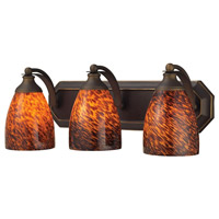 ELK Lighting Vanity 3 Light Bath Bar in Aged Bronze 570-3B-ES