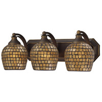 ELK Lighting Vanity 3 Light Bath Bar in Aged Bronze 570-3B-GLD