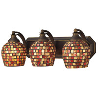 ELK Lighting Vanity 3 Light Bath Bar in Aged Bronze 570-3B-MLT