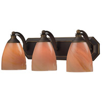 ELK Lighting Vanity 3 Light Bath Bar in Aged Bronze 570-3B-SY