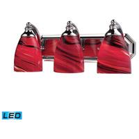 ELK Lighting Vanity 3 Light Bath Bar in Polished Chrome 570-3C-A-LED