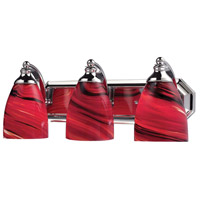 ELK Lighting Vanity 3 Light Bath Bar in Polished Chrome 570-3C-A