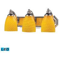 ELK Lighting Vanity 3 Light Bath Bar in Polished Chrome 570-3C-CN-LED
