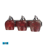 ELK Lighting Vanity 3 Light Bath Bar in Polished Chrome 570-3C-CPR-LED