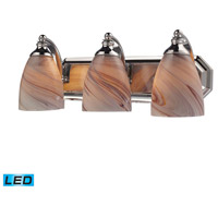 ELK Lighting Vanity 3 Light Bath Bar in Polished Chrome 570-3C-CR-LED
