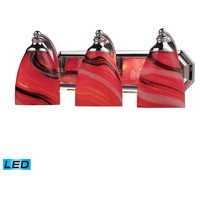 ELK Lighting Vanity 3 Light Bath Bar in Polished Chrome 570-3C-CY-LED