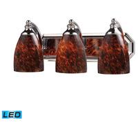 ELK Lighting Vanity 3 Light Bath Bar in Polished Chrome 570-3C-ES-LED