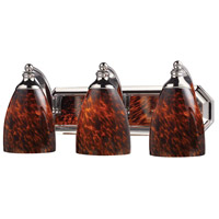 ELK Lighting Vanity 3 Light Bath Bar in Polished Chrome 570-3C-ES
