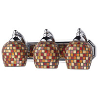 ELK Lighting Vanity 3 Light Bath Bar in Polished Chrome 570-3C-MLT