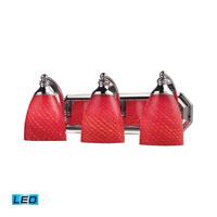 ELK Lighting Vanity 3 Light Bath Bar in Polished Chrome 570-3C-SC-LED