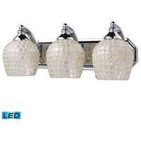 ELK Lighting Vanity 3 Light Bath Bar in Polished Chrome 570-3C-SLV-LED