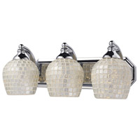 ELK Lighting Vanity 3 Light Bath Bar in Polished Chrome 570-3C-SLV