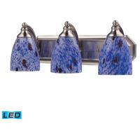 ELK Lighting Vanity 3 Light Bath Bar in Satin Nickel 570-3N-BL-LED