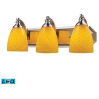 ELK Lighting Vanity 3 Light Bath Bar in Satin Nickel 570-3N-CN-LED