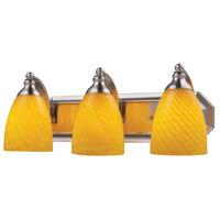 ELK Lighting Vanity 3 Light Bath Bar in Satin Nickel 570-3N-CN photo thumbnail