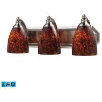 ELK Lighting Vanity 3 Light Bath Bar in Satin Nickel 570-3N-ES-LED