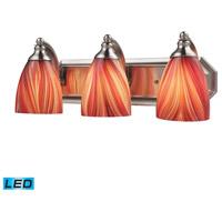 ELK Lighting Vanity 3 Light Bath Bar in Satin Nickel 570-3N-M-LED
